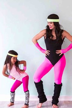 """These Mother-Daughter Halloween Costumes Will Make Everyone Say """"Awww"""" These Mo. - These Mother-Daughter Halloween Costumes Will Make Everyone Say """"Awww"""" These Mother-Daughter H - Mother Daughter Halloween Costumes, Halloween Costumes For Bffs, Mom Costumes, Halloween Kids, Costumes For Women, 80s Party Costumes, Group Halloween, Costume Ideas, Toddler Girl Outfits"""