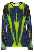 PETER PILOTTO  LT printed crepe-jersey top