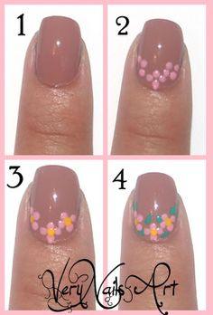 Pin on Naglar Floral Nail Art, Pink Nail Art, Cool Nail Art, Nail Manicure, Diy Nails, Swag Nails, Nail Polish Designs, Nail Art Designs, Sunflower Nail Art