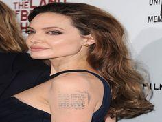 10 Angelina Jolie and Brad Pitt Tattoos - http://slodive.com/tattoos/10-angelina-jolie-brad-pitt-tattoos/
