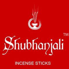 Shubhanjali - Perfect square logo in red background Square Logo, Incense Sticks, Red Background, Fragrances, Packaging, Neon Signs, Stuff To Buy, Wrapping
