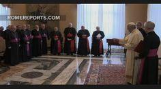 Simpático encuentro de Francisco con todos los obispos españoles