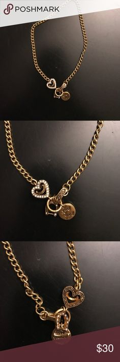 Juicy couture necklace Juicy couture charm necklace Juicy Couture Jewelry Necklaces