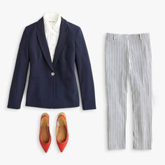 These slacks are so pretty! 31 Days of Outfits: August Edition Stitch Fix Blog, Stitch Fix Stylist, Stitch Fix Outfits, Slim Fit Pants, Work Fashion, Curvy Fashion, Fall Fashion, Style Fashion, Light Jacket