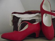 Real flamenco shoes. Are new, look vintage...