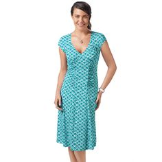 You will love this product from Avon: Lattice Print Fit and Flare Dress Avon Fashion, Fashion Deals, Fashion Beauty, Casual Dresses, Casual Outfits, Summer Dresses, Fit Flare Dress, Fit And Flare, Avon Clothing