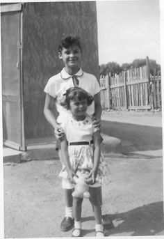 This is my cousin, Evelyn Mora, and my sister, Cathy Nigro back in the day @ 1954. Cathy married Joe Digiralamo and had 3 children and 5 grand kids 2014. Cathy took after our father, Jake Willis Nigro. I took after my mom, Sarah Ruperta Mora Nigro. Fred Willis Nigro.
