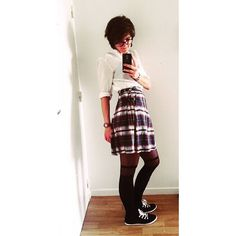 "6 Likes, 1 Comments - Béline Boulay (@beli_belo) on Instagram: ""Old school 🐼  #mangastyle #skirt #shoppingoftheday #crazyme"""