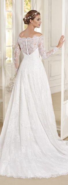 Vestido de Noiva por Fara Sposa 2017 Coleção nupcial