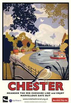 Mid Cheshire Line Posters Train Posters, Railway Posters, Vintage Travel Posters, Vintage Ads, British Travel, Beautiful Posters, Travel Images, Travel Ads, Decoupage