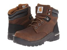 Carhartt 6 Inch Brown Rugged Flex® Work Boot Brown Oil Tanned Leather - Zappos.com Free Shipping BOTH Ways