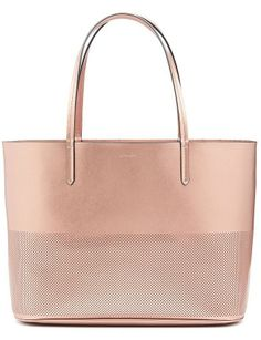Penny Perforated Tote