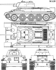 488007309596657929on Soviet Medium Tank T 34