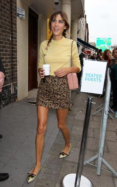 Alexa Chung Street Style & More Details