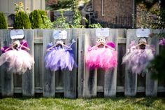 We love these fairy princess costumes for a birthday party!