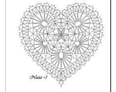 ideas about Lace Patterns Bobbin Lace Patterns, Bead Embroidery Patterns, Bead Loom Patterns, Hairpin Lace Crochet, Crochet Edgings, Crochet Motif, Crochet Shawl, Bobbin Lacemaking, Embroidery Hearts