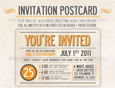 Watercolor Postcard Invitation  Watercolor Postcard Watercolor