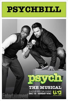 Psych The Musical Poster revealed!