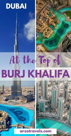 """Top things to do in Dubai. Including travel inspiration & tips : Illustration Description All you need to know before visiting the """"At the Top- Burj Khalifa"""" the tallest building in the world. Dubai Vacation, Dubai Travel, Asia Travel, Vacation Trips, Dubai Trip, Vacation Travel, Vacation Places, Visit Dubai, Dubai Uae"""