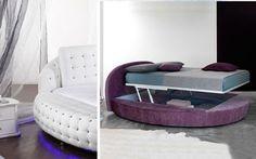 | Camas redondas para la decoración de dormitorios
