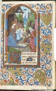Book of Hours, MS M.130 fol. 46r - Images from Medieval and Renaissance Manuscripts - The Morgan Library & Museum