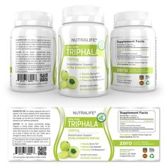 Pure Triphala Supplement Label Template http://www.dlayouts.com/template/901/pure-triphala-supplement-label-template