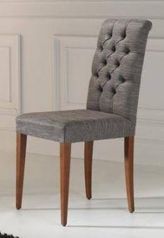 Resultado de imagen para sillas tapizada