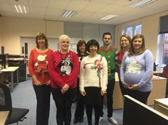 Our sales team :) Christmas Jumpers, Christmas Sweaters, Fashion, Moda, Fashion Styles, Fasion, Tacky Sweater