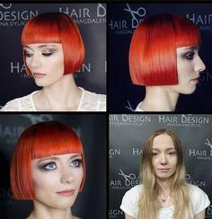 Green Hair, Purple Hair, Best Bobs, Bob Haircut With Bangs, Blunt Bob, Extreme Hair, Mermaid Hair, Hair Transformation, Rainbow Hair