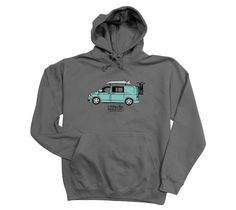 Men's Ready For Adventure Camper Van Hoodie