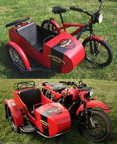 Wilkinson Bros Sidecar Bicycle