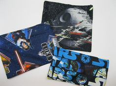Reusable Snack and Sandwich Bags Star Wars by AlwaysALittleBehind, $14.00