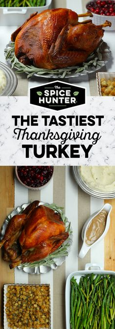 Intimidated by brining? The Spice Hunter Turkey Brine simplifies prep and ensures a juicy, flavor-packed turkey your friends and family will gobble up. Turkey In Oven, Turkey Brine, Roasted Turkey, Holiday Recipes, Dinner Recipes, Christmas Recipes, Thanksgiving Menu, Thanksgiving Decorations, Christmas Decorations