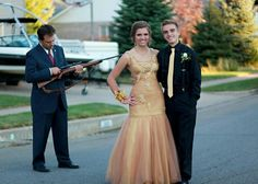 Prom night. Best prom photo ever.