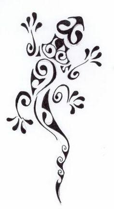 lizard henna design by ~April-Mo on deviantART