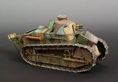WW1 - French Renault FT-17.