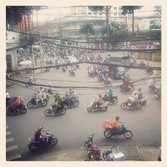 Traffic in Ho Chi Minh City – 30 Instagram photos in 30 days | Nomadic Notes