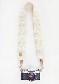 Wild Flower Camera Strap By Bloom Theory