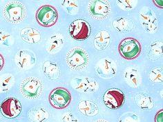 Quilting Treasures - Stacey Yacula 'Snow Much Fun' Bildgröße 40 cm x 30 cm we-413-07-7050