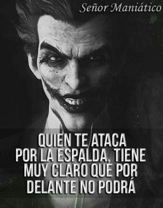 Joker Frases, Joker Quotes, Funny Quotes, Words Quotes, Life Quotes, Sayings, The Quiet Ones, Quotes En Espanol, Survival Tips