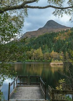 Glencoe Lochan and The Pap of Glencoe, Highlands, Scotland