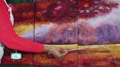 1ª Parte : Hermoso paisaje Otoñal   muy colorido!!!