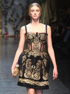 fashionwisdom:    Sigrid Agren at Dolce and Gabbana SS 13
