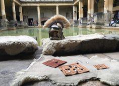 The Roman Baths,Bath,England