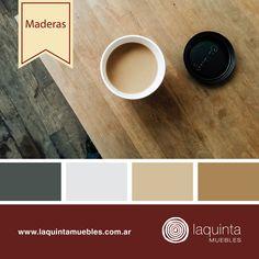 ¡La madera nos inspira! Y vos, ¿qué colores utilizás para pintar?