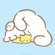 Looks like Cinnamoroll had a very relaxing day on National Puppy Day!