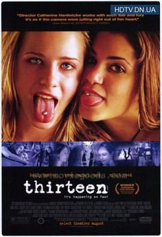 'Thirteen' with Holly Hunter & Evan Rachel Wood.       -------      http://www.imdb.com/title/tt0328538