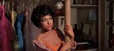 """Rita Moreno (Academy Award as Best Actress in a Supporting Role) in """"West Side Story"""" West Side Story 1961, Ben Fankhauser, Ben Platt, Rita Moreno, Theatre Nerds, Vintage Romance, Best Actress, Tumblr, Actresses"""