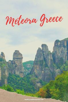 The Meteora Monasteries are a wonderful place to see. Besides offering some great history and culture, you can also enjoy some great hiking in the area. Here are 22 facts that will make you want to visit. Vacation Is Over, Greece Travel, Where To Go, Wonderful Places, Travel Style, Adventure Travel, Places To See, Monument Valley, Traveling By Yourself