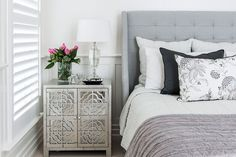 Get inspiration for your coastal home with this relaxed tropical Queensland Hamptons style home that is perfection from facade to living areas. Decor, Home, Bedroom Inspirations, Home Bedroom, Bedroom Makeover, Bedroom Design, Bedroom Decor, Beautiful Bedrooms, Hamptons Style Bedrooms